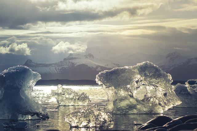 Grosor del hielo en el Ártico