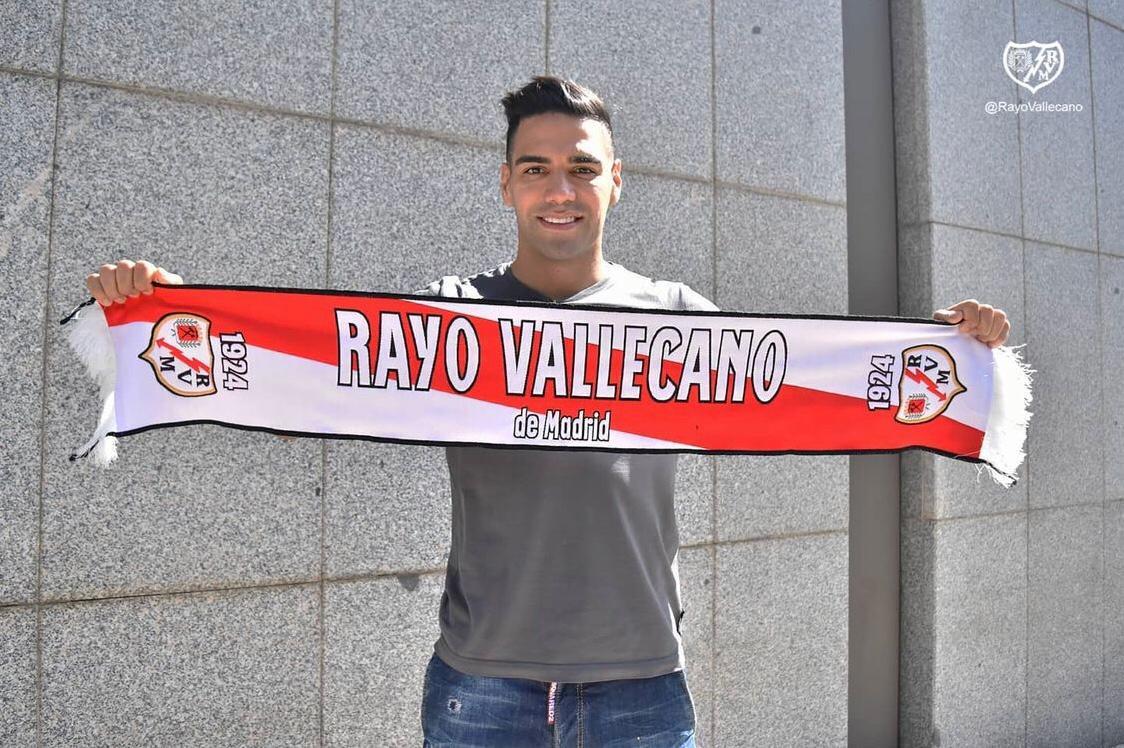 Falcao En Rayo Vallecano